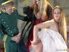 Cathy Heaven added to Rebecca Moore are milfs surrounding huge melons