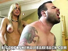 Ginormous beef whistle she-creature bombshell Adryella Vendraminy is in bareback