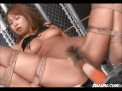 Confined And Machined Hairy Asian